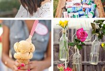 Boho, rustic wedding inspiration / Bohemian and rustic wedding inspiration for the hippie lovers out there with a lot of DIY projects. Getting married and celebrating love on a budget. Boho style.