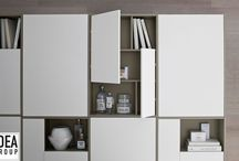 Organizing solutions / All kinds of bathroom furniture designed to protect and contain your things.