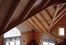 Log Home Great Room / Various Great rooms