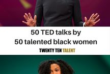 50 inspiring TED talks by 50 talented black women / Twenty Ten Talent shares powerful words of inspiration from 50 super talented black women