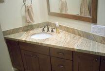 Bathroom vanity - corner