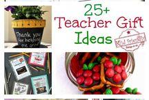 Teacher gifts&thank yous