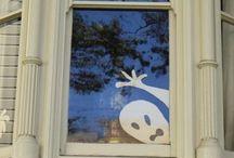 ハロウィン窓