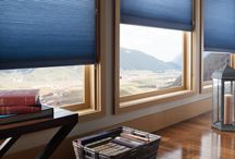 Honeycomb Shades / Honeycomb Shades, also known as Cellular Shades, feature an air pocket design that is extremely energy efficient. When the blind is on its side, it resembles a honeycomb. (Which is where they got their name!)