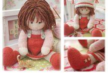 doll Mary-Jane stéarine