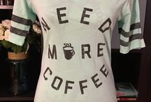 Girls Love Coffee / This board is dedicated to the love of coffee. I will be pinning clothing that expresses my love for coffee. From time to time I will also pin other coffee related pins.