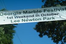 Georgia Marble Festival / Always the first weekend in October at Lee Newton Park in Jasper, Pickens County, GA.