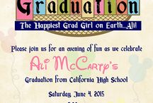To Celebrate Graduation