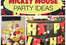 Mickey Mouse Party - Nelson?