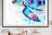 Watercolor Art Ideas