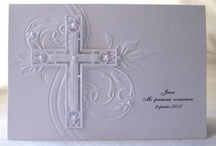 Confirmation/Communion & Sympathy Cards / by margaret cannon