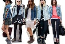 Denim jacket, best jean jackets / Best outfits with denim jacket. How to wear denim jacket? What to wear with denim jacket?