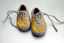 Обувь валяная