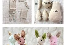 Sewing / Make some cute stuff with sewing... you can also find patterns here!