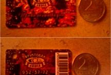 Discount cards / Дисконтные карты
