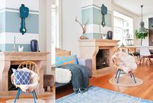 Bright and colorful Interiors