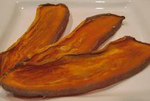 Doggie Dried Sweet Potatoe Chews