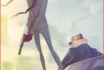 Comics/Anime/Fantasy / The art of comics really captivates me. Theres something about it thats so inspiring.
