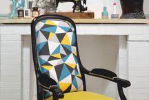 Krzesła, stołki, fotele