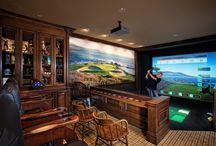 golf area (indoor)