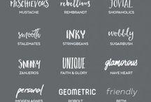 fonts&web design