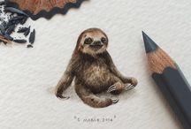Lorraine Loots #miniature #illustration / llustration