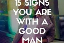 Signs you have a good man