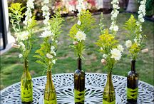 Reuse Those Wine Bottles / Ways to reuse and repurpose empty wine bottles