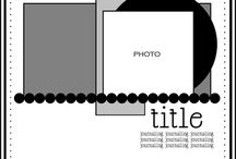Sketches for Scrapbooking Inspiration / by Pamela Floyd