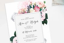Weeding invitations