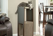 "Sauder Pet Home / These new pieces are the cats ""meow""! Stylish, and affordable - we know you're going to love them. / by Sauder Furniture"