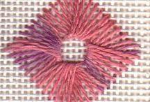 вышивка - швы