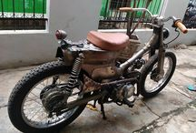 "Honda Legenda ""Rusty"" / Rusty Raw Indonesia Street cub"