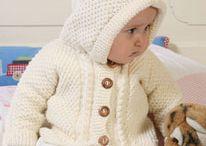 Babyvestje breien
