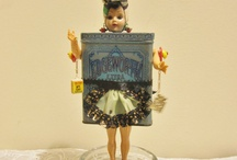 Assemblage doll art / by Candy Poole