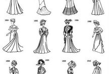 era fashion of year 1900