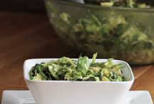 Bacon avocado Brussels sprout salad