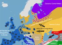 Population Genetics / Retracing the genetic history of Europe and the Middle East through Y-chromosomal DNA, mitochondrial DNA and autosomal DNA.