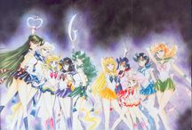 Sailor Moon / Manga illustrations.