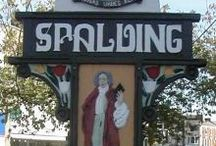 Spalding, Lincolnshire, UK / This is the town near where I live