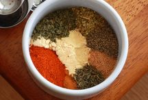 Spice It Up / Seasoning Blends, Sauces, Spreads, and Salad Dressings / by Juli Bey