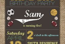 Sports Day Birthday Party