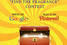 Contest Board: Find The Fragrance / Share the links of your Pinterest Boards with us & Win Exciting Prizes!!