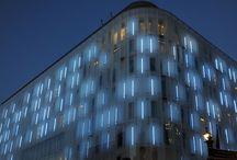 Architectural Facade Lighting / Exterior lighting to architectural facades