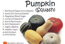 Pumpkin / Health benefits of pumpkin and some recipes to help you navigate your way through your CSA delivery this month!