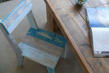 Almacen 5, muebles de madera reciclada / Hacemos muebles de madera reciclada. La madera viene de Holanda, esta utilizado en las obras y por eso tiene un estilo muy original. Hacemos muebles a medida y a muy buen precio!