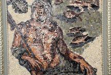 mozaik panosu