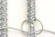 Bracelet / Bracelet perle et cuir