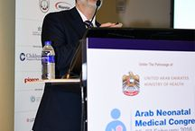 "UHS participation in 2nd Arab Neonatal Medical Congress / Prof. Hakam Yaseen, Consultant Neonatologist, Head of Paediatric and Neonatology Department, Medical Director (CMO) and Professor of Paediatrics, University Hospital Sharjah, UAE recently participated as speaker and panellist in the 2nd Arab Neonatal Medical Congress, held in Dubai from 25 February, 2016 - Saturday, 27 February, 2016.  Prof. Hakam spoke about ""Weaning of mechanical ventilation in preterm infants: What is the best technique?"""