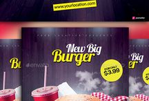 Food Menu Flyers